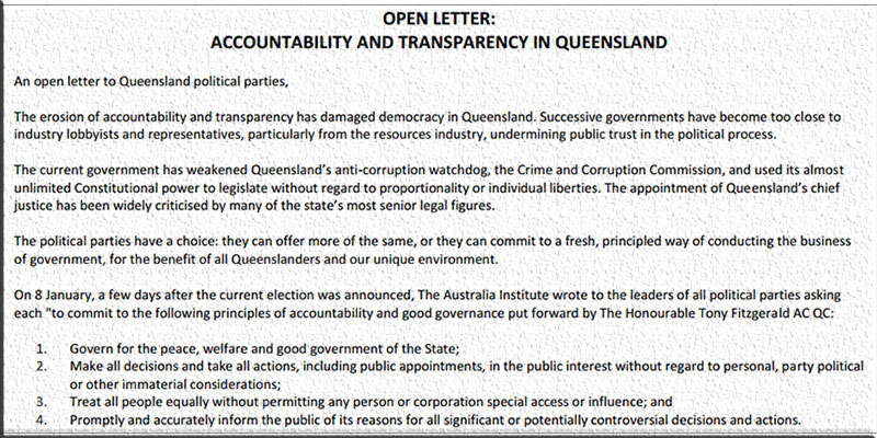 OpenLetterQld