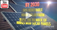 9 News Brisbane: Labor announces renewable energy policy with expansion by solar households