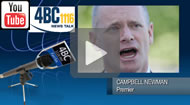 4BC: Newman says Christensen nothing to do with him over wrecking ball cartoon.
