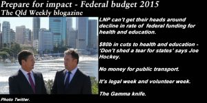 Prepare for impact - Federal budget 2015