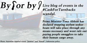 By Hook Or By Crook - The #CashForTurnbacks scandal.