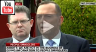 "Tony Abbott: ""We are not in the business of giving information to people smugglers."""