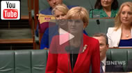 """Asked if she regretted denying cash for turnbacks, Foreign Minister Julie Bishop answered, """"I don't do regrets""""."""