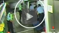 Nicky Haydon reported: A Gold Coast officer who allegedly leaked footage of four colleagues bashing a man could lose his job.