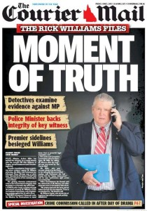 The Courier Mail - Moment Of Truth - June 5 2015.