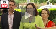 ABC News Qld: Premier Annastacia Palaszczuk announces medicinal cannabis trials.