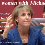 Targeting women with Michaelia Cash – @Qldaah #auspol
