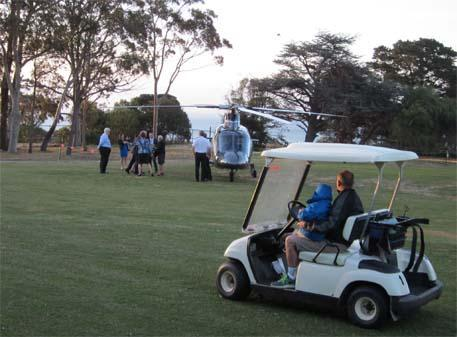 Bronwyn Bishop chopper