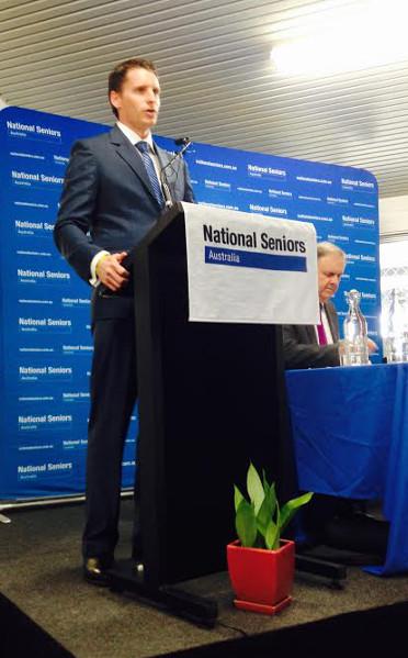 canning Liberal candidate, Andrew Hastie. Photo: John Pratt