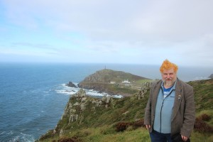 John Englart at Cape Cornwall
