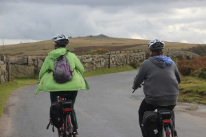 Riding E-bikes on Dartmoor