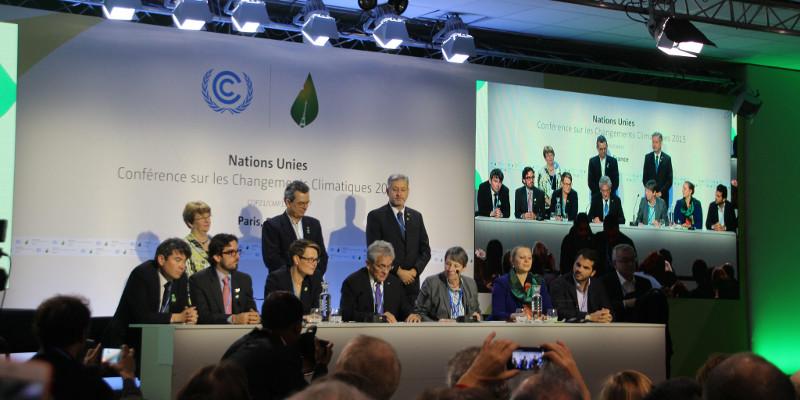 Coalition of Ambition press conference COP21 Paris