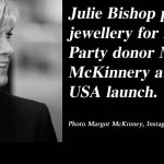 Julie Bishop promotes jewellery for Liberal Party donor: @Qldaah #auspol #qldpol