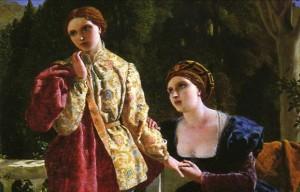 Lady Olivia falling for Viola in 'Twelfth Night'.