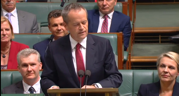 Bill Shorten 2016 Budget reply speech