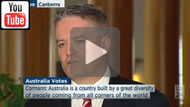 ABC News 24: Mathias Cormann says there is no intrenched racism in Australia.