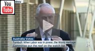 ABC News 24: Great Barrier Reef: Nothing new other than what is in budget from Malcolm Turnbull.