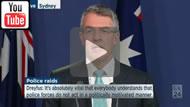 ABC News 24 Full presser: Mark Dreyfus & Jason Clare on the AFP NBN leak raid.