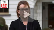 """On Medicare co-payment Sussan Ley says, """"we'll look at the policies after the election""""."""