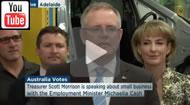 ABC News 24: 12 week work experience program: Scott Morrison & Michaelia Cash on PATH.