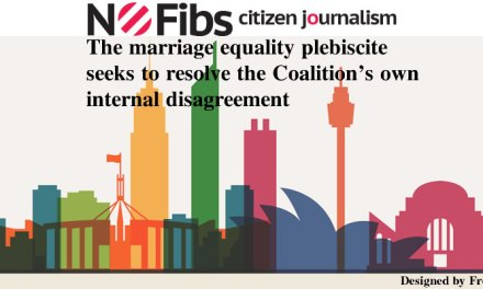Marriage equality plebiscite to resolve Coalition's internal disagreement – @qldaah #auspol