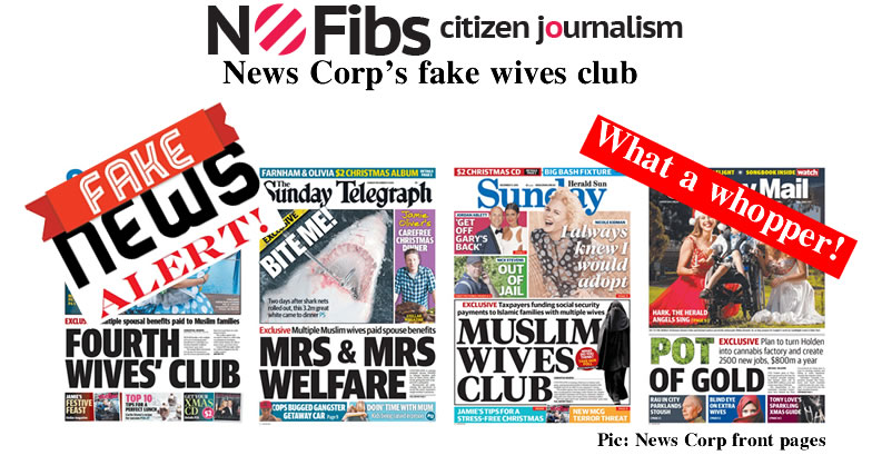 News Corp's fake wives club