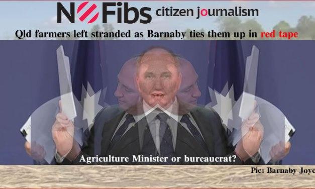 Qld farmers left stranded by Barnaby Joyce's red tape – @Qldaah #qldpol #auspol