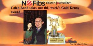 Caleb Bond takes out this week's #GoldKenny award
