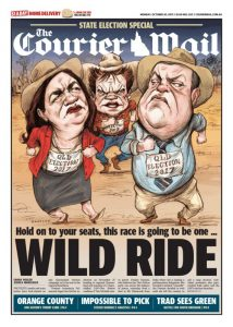 October 30, 2017 The Courier Mail - Wild Ride