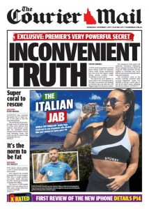 November 1, 2017 The Courier Mail - Inconvenient Truth