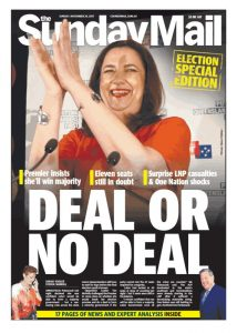 November 26, 2017 The Sunday Mail - Deal Or No Deal
