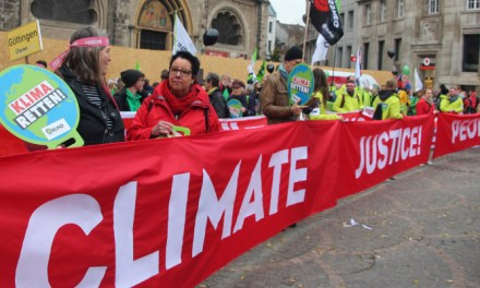 March for #climatejustice in Bonn at #COP23 calls for #endcoal by @takvera