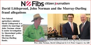 David Littleproud, John Norman and the Murray-Darling fraud allegations