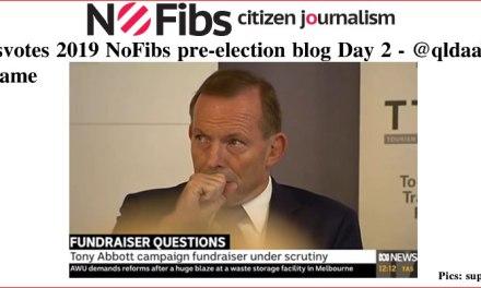 #Ausvotes 2019 NoFibs pre-election blog Day 2: @qldaah #Qgame #qldpol