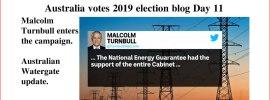 Australia votes 2019 election blog Day 11