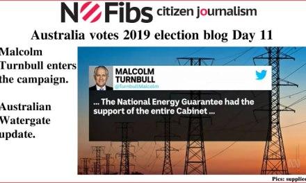 #AusVotes Day 11 – Malcolm Turnbull enters the fray: @qldaah #qldpol