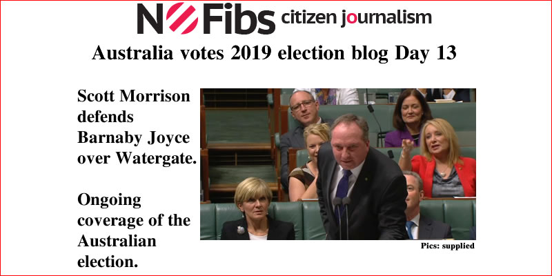 #AusVotes Day 13 – Not my job: @qldaah #qldpol #Watergate