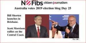 Australia votes 2019 election blog Day 25