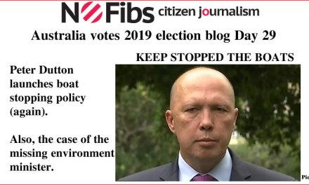 #AusVotes Day 29 – Keep stopped the boats: @qldaah #qldpol