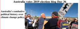 Australia votes 2019 election blog Day 36