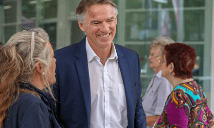 Rob Oakeshott says 'no seat should be taken for granted': @margokingston1 #CowperVotes #podcast