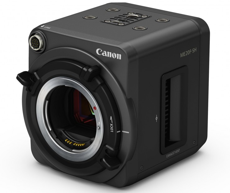 Canon ME20F Front Angle No Lens