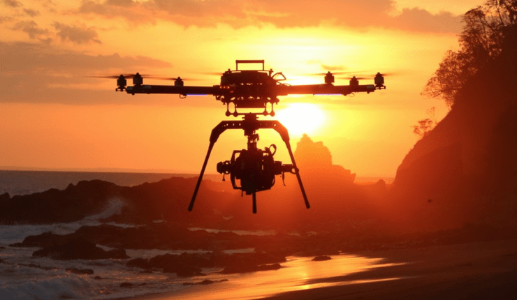 faa allows drone film production commercial use