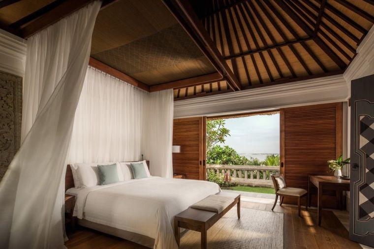 Four Seasons Jimbaran Lobby Villa King Bed