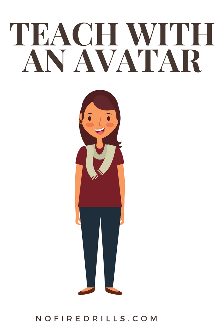 Use an avatar in the classroom and for Parent Teacher Conferences