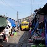 Maeklong Market – (aka, the one with the train)