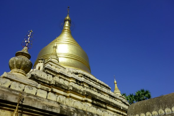 Golden stupa, looks Islamic