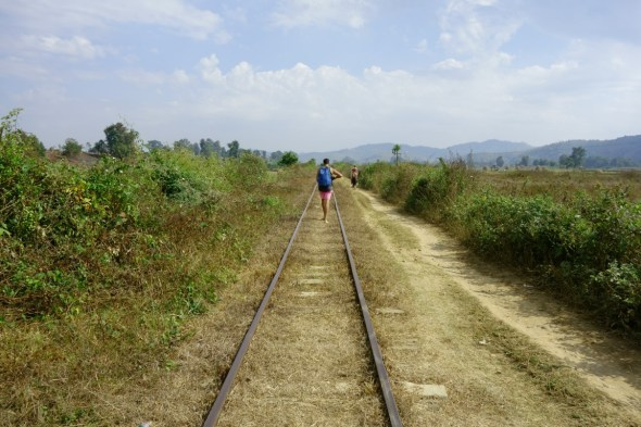 Railway track at Hsipaw