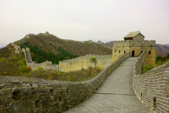 October 2014 - The Great Wall!