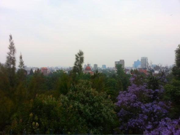 Mexico City vista